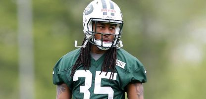 Calvin Pryor at Jets OTAs. (Credit: Getty Images / Rich Schultz)